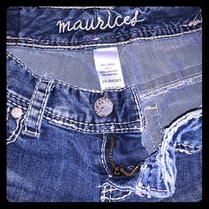 Maurices jeans 3/4 short